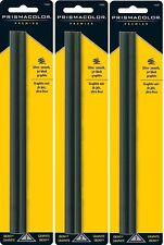 3 Packs - Sanford Prismacolor Premier Graphite Ebony Ultra Smooth Pencils