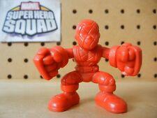 Marvel Super Hero Squad RARE TEST SHOT Red Blank SHOCKER Spider-Man Villain