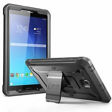 Galaxy Tab E 8.0 Case Tablet Cover Screen Protector Hard Bumper Kickstand Black