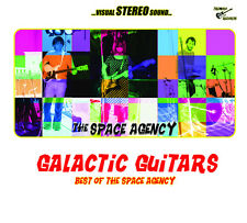 The Space Agency - Galactic Guitars Compilation Surf Garage Psychedelic  New CD