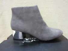Arizona AZ Paisley Size 7.5 M BOOTS / BOOTIES Shoes Light Grey MEMORY FOAM Zip