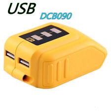 12V/20V USB Power Source for Dewalt DCB090 10.8V/14.4V/18V/ MAX LI-ION Battery