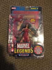 Marvel Legends Series IV Elektra FOIL Figure NEW FREE SHIP US