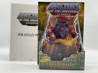 MOTU DRAEGO MAN Masters of the Universe He-man MOTUC Origins MIB MOC Rare Lot