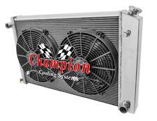 "3 Row Perf Radiator 19x28"",14"" Fans - 1973-1991 Chevy Suburban V8 (Manual Trans)"