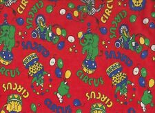 Red Circus Nursery Flannelette