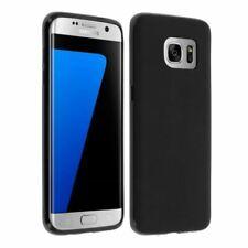Coque Protection Housse Etui silicone noir pour Samsung Galaxy S7