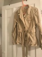 Banana Republic Trench, Size 10, worn once,excellent condition