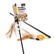 Ruff 'n' Tumble Feath 'r' Leather Cat Dangler Sgl