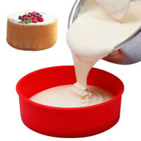 Round Silicone Bread Loaf Cake Mold Non Stick Bakeware Baking Pan Oven Mould
