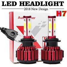 2X H7 LED Headlight Kit 48000LM High or Low Beam Bulbs 6000K Bright VS Xenon HID