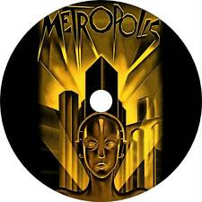 Metropolis (1927) Sci-Fi Movie/Film on Dvd (Fritz Lang) With English Subtitles