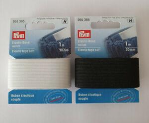 Gummiband Elastic - Band weich 30 mm / 1 m Prym € 3,00