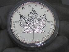 Key Date BU 1997 Silver Maple Leaf Canada 1 troy oz .9999 Fine.  #29