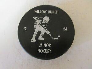 Willow Bunch Saskatchewan Minor Hockey Puck