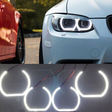 White SMD LED Angel Eye Halo Ring Kit For BMW F30 3 Series Halogen Headlights