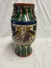 "Vintage Japanese Pottery Vase 12"" Tall"