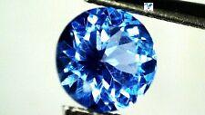 3mm Rund 100/% Echter ! Natürlicher Violett Blauer Tansanit 2mm 2,8mm