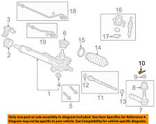 HONDA OEM Steering Gear-Outer Tie Rod Cotter Pin 9420130220
