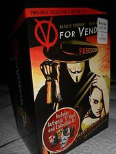 V FOR VENDETTA LIMITED EDITION DVD COLLECTOR EDITION V MASK EXCLUSIVE NEW