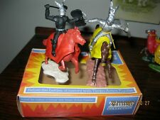 TIMPO/TOYWAY Chevaliers Boxed x2, excellent état