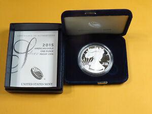 2015 American Silver Eagle Proof 1 oz. Fine Silver