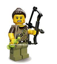 Lego Mini Figure #71007 #10 DINO TRACKER Series12 Includes poster & Online Code