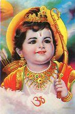 Lord Ram•Young Boy•Rama•Hindu Diety•India Art POSTCARD 4x6