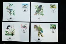 DOMINICA 1984 WWF BIRDS COVERS