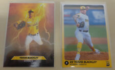 2018 Travis Blackley Baseball Cards Brisbane Bandits Australian Baseball League