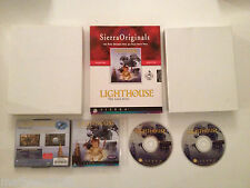 Lighthouse Light House the dark being SIERRA Point & Click PC Big Box carton FR