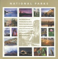 USPS Sheet of Stamps National Parks Grand Canyon Yosemite Conservation MNH 2016
