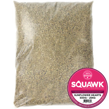 More details for squawk sunflower hearts - bakery grade seed kernels no mess wild bird food