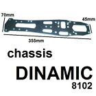 Chassis Plate Aluminum Replacement SERPENT Racing 8102 For Model Dinamic