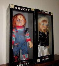 Chucky & Tiffany-Bride of Chucky-Spencer Gifts Dolls-1998-RARE-Set of 2-MINT