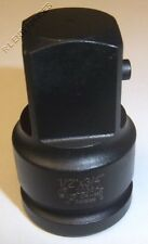 """Grey Pneumatic 1/2"""" Female x 3/4"""" Male Adapter with Locking Pin 2238Al"""