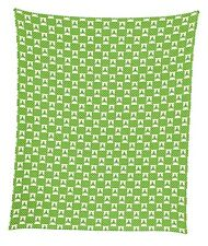 "Celtic Knots & Lattice Mircofleece Throw Blanket 50""x60"""