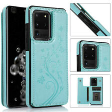 For Samsung Galaxy Note 10 Plus S20 S10S9S8S7 Magnetic Leather Wallet Case Cover