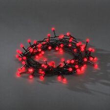 Décoration De Noël 80 Cerise Rouge LED Intérieur / Extérieur Fée Lumières