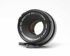Canon FD 50mm 1:1 .8 sc Nº 633
