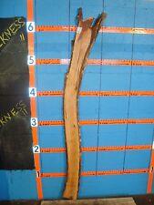 """#7713 wild apple live edge slab rustic wood lumber 73""""L 6 1/2""""W 13/16T"""