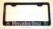 Mercedes Benz Amg License Plate Frame Holder Made w/ Swarovski Crystals