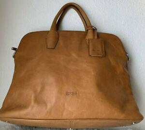 Bree Tasche Chicago 3 Damen Business Laptop Leder Saffiano  Vintage Look