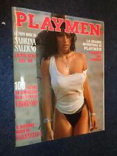 PLAYMEN N° 1 GENNAIO 1990 - SABRINA SALERNO - BARBARELLA - TATTILO -C5-FL