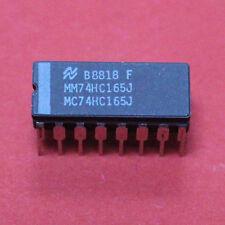 10 PZ. mm74hc165j NSC CDIP - 16 8-bit registro a scorrimento 10pcs.