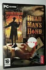 DEAD MAN'S HAND GIOCO USATO BUONO STATO PC CDROM VERSIONE ITALIANA FR1 43299