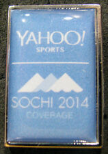2014 SOCHI  RUSSIA OLYMPIC GAMES Yahoo! Sports Media pin Very RARE