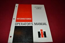 International Harvester 120 Forage Wagon Operators Manual GDSD
