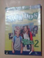 LIBRO SACà DOS METHODE DE FRANCAIS POUR ADOLESCENTS 2 DIFUSION 9788869642586 CD