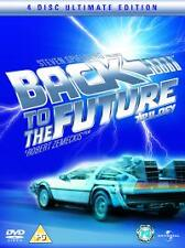 BACK TO THE FUTURE TRILOGY DVD | 4 DISC ULTIMATE EDITION | BRAND NEW SEALED